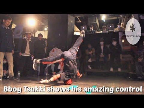 Bboy Tsukki shows his incredible power move control Who's got Daily Flava 12
