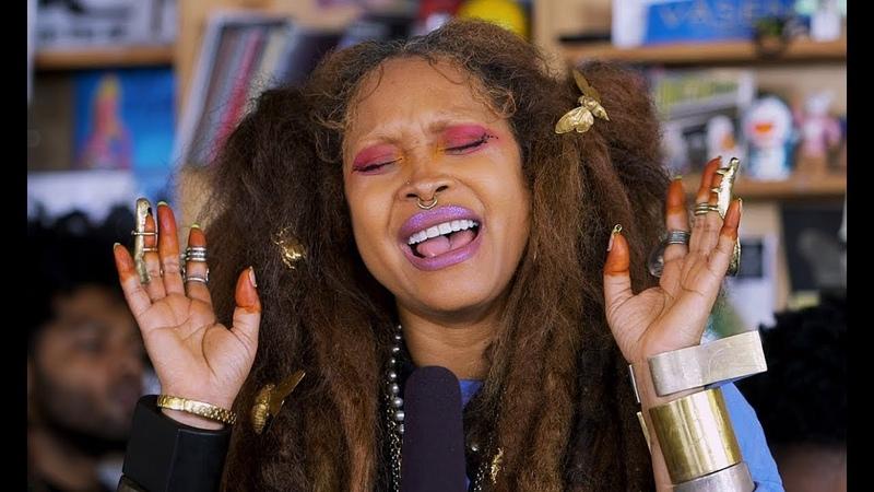 Erykah Badu NPR Music Tiny Desk Concert