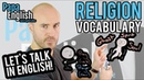 Talk About RELIGION in English - English Vocabulary lesson
