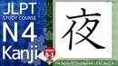 Online Japanese JLPT N4 Kanji Course Lesson 8-3 日本語能力試験