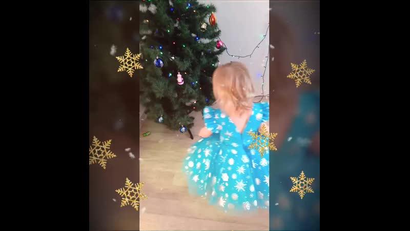 Маленькие снежинки❄️ платья Volshebnaya Masterskaya 💞