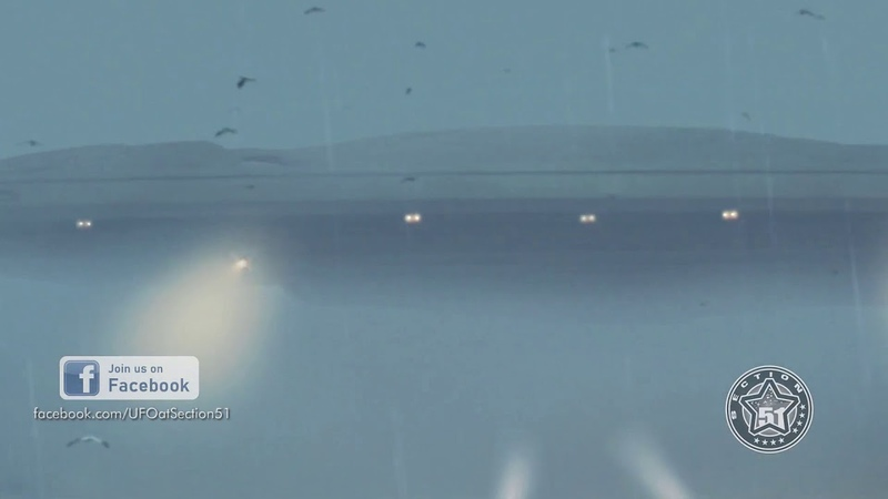 UFO MOTHERSHIP SPOTTED BY MULTIPLE WITNESSES IN OREGON CGI