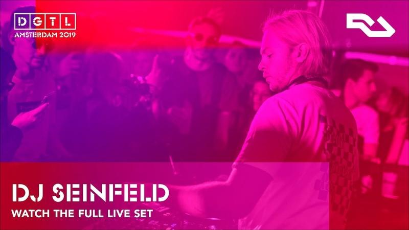 DJ Seinfeld Live set at DGTL Amsterdam 2019 Gain by RA stage
