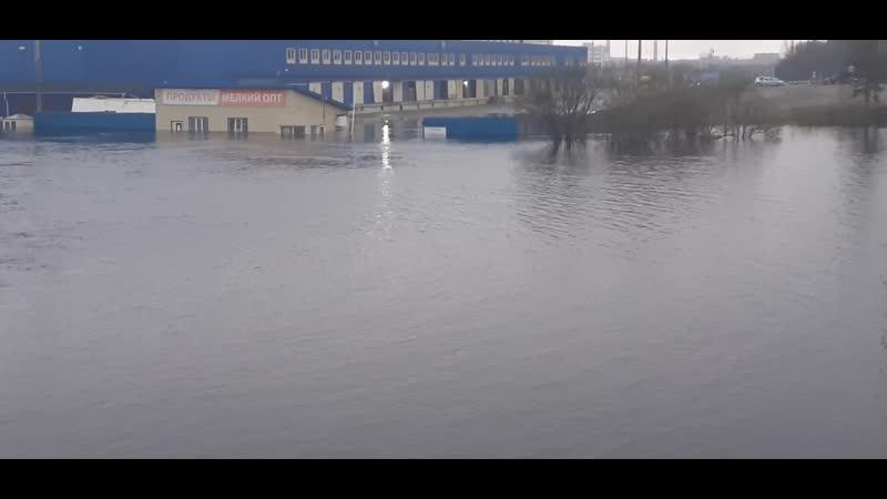 Мурманск База Евророс Затопило печально 31 05 2020г