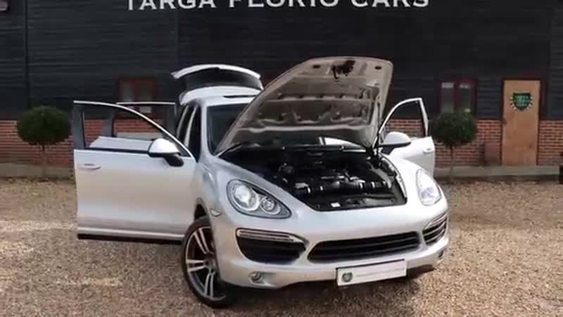 Porsche Cayenne 4 8 V8 S 400PS Tiptronic S Automatic in Ice Silver Metallic