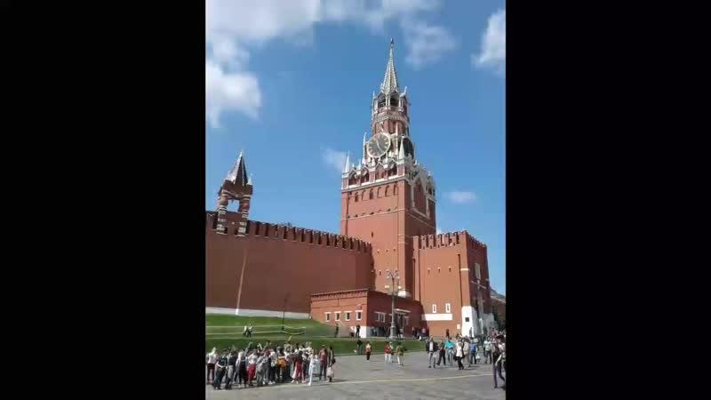 26 мая 2019. Москва. Красная площадь. Александровский сад.